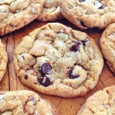 Joy's Brown Butter Chocolate Chip Cookies with Pecans: King Arthur Flour