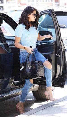 Selena Gomez out in California - 2014