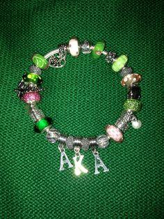 My beautiful AKA Pandora Bracelet
