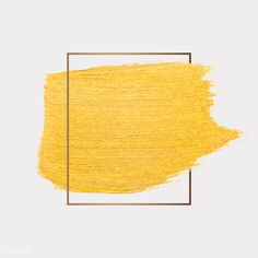Golden shimmery brush stroke badge vector | free image by rawpixel.com / Ake Instagram Background, Instagram Frame, Vector Can, Vector Free, Design Fonte, Brush Stroke Vector, Paint Splash, Brush Strokes, Gold Paint