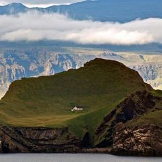 Tiny house on a tiny island