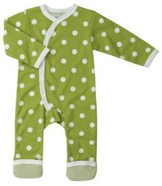 Organic clothing for babies.