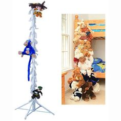 stuffed animal storage | Stuffed Animal Organizer - Vertical Toy Storage - by dbest - 00-021 ...