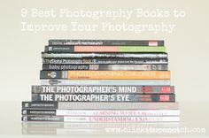 We have put together a list of 9 of our favorite photography books. These books will help your improve your photography skills. Hobby Photography, Photography Lessons, Photoshop Photography, Photography Books, Photography Business, Image Photography, Photography Tutorials, Amazing Photography, Animal Photography