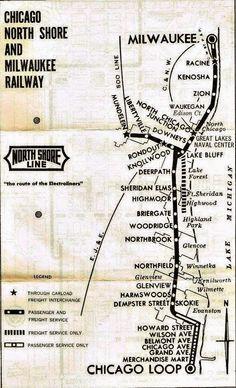 Chicago North Shore and Milwaukee Railway