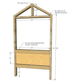 Cabin Bed by Jen Woodhouse Diy Cabin Bed, Cabin Beds For Kids, Ana White, Toddler Bed With Storage, White Cabin, Loft Bed Plans, Building A Cabin, Ikea Bed, Kid Beds