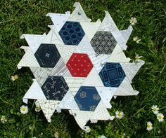 Hexagons and Triangles EPP tesselation. Oookaaayyy, how is this done?