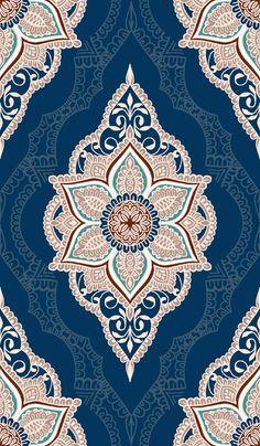 LACE Damask Pattern