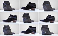 C&C: Super easy leather shoe strap tutorial