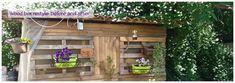 Wood box restyle #fragulina #diy #recycle #homedecor #gardendecoration