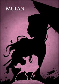 Mulan | 28 Minimalist Posters For Your Disney-Themed Nursery - i love it