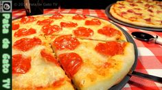 Pizza y salsa casera, paso a paso / Homemade pizza and sauce, step by step