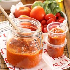 Tomatensaus voor twee gerechten