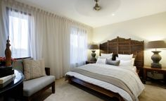 Balinese Interior Design bedroom | House Design: Cannonvale - Porter Davis Homes