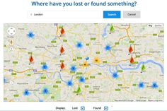 did you know you could search for lost & found teddies on the map on our site whiteboomerang.com/lostteddy #LostTeddy