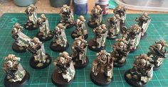 Just finished a unit of Death Guard Breachers! : Warhammer