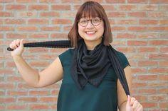 DIY : Se faire une écharpe en moins de 3 minutes à la surjeteuse - Couture Débutant