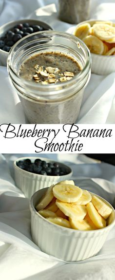 I am dreaming of warmer weather and spring fruits! This blueberry banana smoothie is the perfect combination for a spring breakfast on a warm morning. |gluten free| |simple smoothie| |smoothie| |
