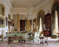 Ickworth Housen kirjasto.