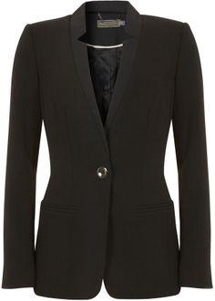 Mint Velvet Black Notch Jacket on shopstyle.co.uk Work Wear, Contrast, Size 10, Mint, Sexy, Model, Blazers, How To Wear, Jackets