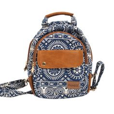Buy Circle Print Backpack - Small Online - Chumbak