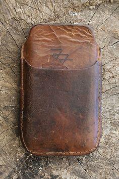Atelier de l'Armée handmade iPhone cases out of vintage leather