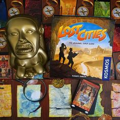 Cue #IndianaJones / #LaraCroft music! It's #LostCities time! Great little #2player game. It's a #ReinerKnizia game... so... you know it's probably good. Have you played it? #cardgame #cardgames  #boardgame #boardgamer #boardgames #boardgamers #boardgaming #tabletop #tabletopgame #tabletopgames #tabletopgamers #tabletopgaming #JuegosDeMesa #brettspiel #boardgamegeek #bgg sadly not at #bggcon