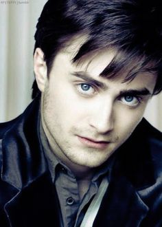 Daniel Radcliffe-dark and almost brooding