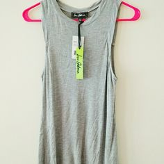 Sam Edelman gray tank Slits on side made for flowy feel Sam Edelman Tops Tank Tops