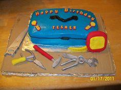 T 2nd Birthday- Tool Box Cake
