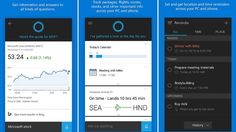 Get an assist from Microsoft's voice-activated personal assistantant on your smartphone....