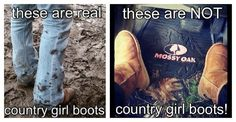 AMEN!!!! its so funny when you go to a country concert...you see any boot is a cowgirl boot...and braided pig tails....lol  silly girls