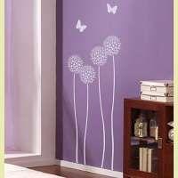 Flower and Vine Stencils/Allium Twins Flower Stencil/http://bit.ly/J6r3n0