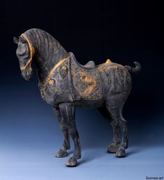 Tang Silver and Gold Horse