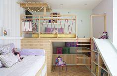 Veja dicas práticas e ideias para decorar um quarto infantil: pequeno, moderno e funcional. Confira todas as fotos de projetos agora!