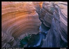 slot canyon, grand canyon