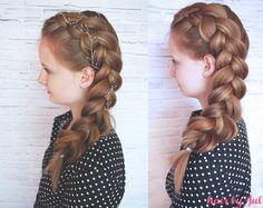 wedding hairstyle updo braid
