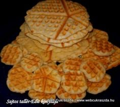 See related links to what you are looking for. Hungarian Recipes, Hungarian Food, Snacks Für Party, Winter Food, Cake Cookies, Crackers, Waffles, Sandwiches, Recipies