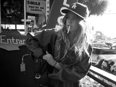 """bradelterman:  The original """"Dream Girl"""", Chelsea Schuchman photographed as she departed Reel Inn in Malibu earlier this week. Chelsea has these two large fish tacos and a Dr. Pepper for lunch. I will never forget this amazing afternoon watching Chelsea consume her fish tacos. Photo by Brad Elterman"""