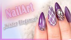 #winter #nailart #nails #elegance Der Mix macht´s! Bei dieser Nailart geht es besonders elegant zu! Das solltest Du Dir unbedingt anschauen. Hier findest Du alle Produkte: https://www.prettynailshop24.de/shop/nailart-winter-elegance-video_1538.html?utm_source=pinterest&utm_medium=referrer&utm_campaign=pi_NA0518