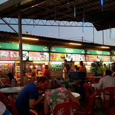 Red Garden in Georgetown, Penang, Malaysia. I had the best laksa of my life here!