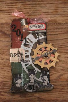 Other: Tim Holtz Christmas Tags 2011