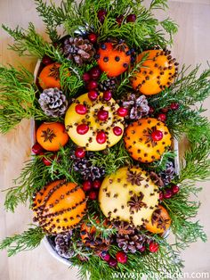 How to Make Homemade Natural Christmas Decorations Using Citrus Fruits & Spices DIY : Eco friendly natural Christmas decor ideas. Homemade Natural Christmas Decorations Using Citrus Fruits & Spices. Shiny, sparkling Christmas decorations are certainly eye Homemade Christmas Decorations, Holiday Crafts, Christmas Fruit Ideas, Winter Christmas, Christmas Home, Navidad Natural, Pot Pourri, Deco Floral, Theme Noel