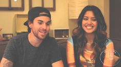 UsTheDuo was recognized for their talent through using various social media platforms, but most importantly through Vine. They were known as the 'mysterious vine couple'. UsTheDuo first started off by recording 6 seconds of various covers of hit songs via Vine. Their Vine went viral and soon, they were seen on Good Morning America and now, they have released their first single album. In addition, it was just released that they have been signed by Republic (major record label).