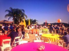 The end of #acordloma14 - celebrating in style at the beachless beach party!