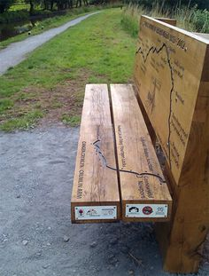 Providing Interactive Benches along Monmouthshire and Brecon Beacons Canal
