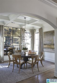 Love The Arch U0026 Coffered Ceiling