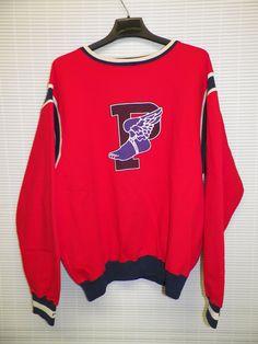 Vintage Polo Ralph Lauren 1992 Big P Wing Ski Sweatshirt