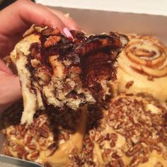 Sticky gooey rich and chocolatey cinnamon roll for breakfast... licks lips and messy fingers  @cinnabon @cinnabonkazan #cinnabon #cinnamonrolls #cinnamonbuns #breakfast  #weekendmornings #weekend #brunch #bankholiday #bamkholidayminday #goodmorning #yummy #foodie #treat #sugarhigh #yum #naughty #naughtyfood #whynot