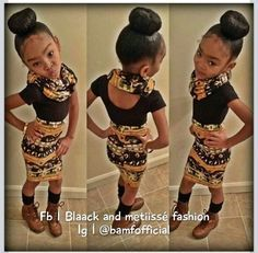 Cute Hairstyles For Black Kids With Short Hair